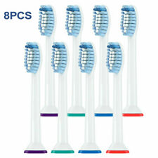 HX6053/63 For Philips Sonicare Sensitive Sonic Replacement Toothbrush Brush Head