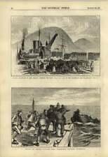 1876 Ferrocarril pionero Nueva Zelanda Greymouth brunnerton Fenian presidiarios Escape