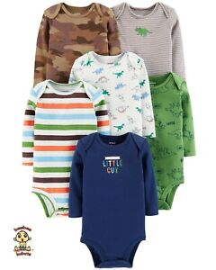 Carter's Bodysuits 6-Pack Short Sleeve Set 3 months Authentic and Brand New