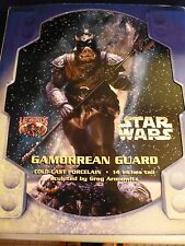 Vintage Star Wars Gamorrean Guard Porcelain Statue 10 inch Legends 3D MIB ROTJ