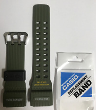 CASIO Original G-Shock Band  Mudmaster GG-1000-1A3  GG-1000  Green Strap  GG1000