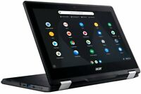 "2020 Acer Spin 11 2-in-1 11.6"" IPS Touch-Screen Chromebook,Intel N3350,4GB,32GB"