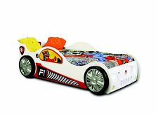 Race Car Car Bed Children Furniture Sleep Room Child Wood Beds + Mattress New