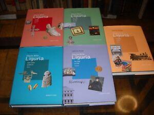 Storia della Liguria-G. Airaldi-Marietti 1820-Prima ediz 2008- 5 vol. con DVD