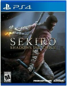 Sekiro Shadows Die Twice for PlayStation 4 Usa import