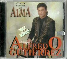 Alfredo Gutierrez Con Todo El Alma Latin Music CD