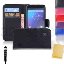 Étuis, housses et coques en cuir pour téléphone mobile et assistant personnel (PDA) LG