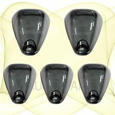 5X LED Black Smoked Lens Roof Top Marker Lights Cover For Car Truck SUV 4x4 CAB