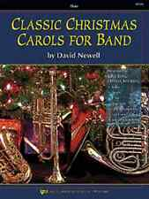 """CLASSIC CHRISTMAS CAROLS FOR BAND"" FLUTE MUSIC BOOK  BRAND NEW ON SALE!!"