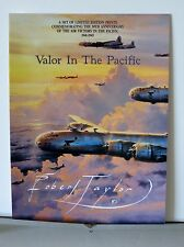 Valor In The Pacific Robert Taylor  Multi-Page Advertising Brochure