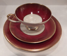 EBERTHAL BAVARIA W. GERMANY TRIO #2612 CUP, SAUCER, PLATE set #85