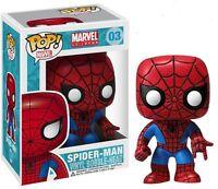 SPIDER-MAN MARVEL POP VINYL FIGURE FUNKO NEW