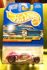 Hot Wheels Purple Salt Flat Racers Cartoon Friends Series #1 1999 Natasha Fatale