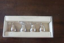Pottery Barn Pear Place Card Holders Set of 4 in Original Box