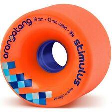 Longboard Wheels. Orangatang Stimulus Freeride Longboard Wheels - Orange 70mm