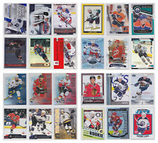 Rookie RC Parallel Insert Numbered Young Stars - Pick From List - NHL Hockey