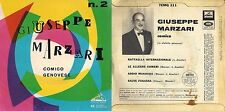 DISCO 45 Giri  GIUSEPPE MARZARI - MARZARI COMICO GENOVESE N. 2