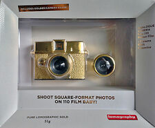 Lomography Diana Baby 110 Gold with 12 & 24mm + 1 pell. / film roll (port FR 0€)