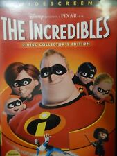 DVD THE INCREDIBLES Pixar Disney  2-Disc Collectors Edition (2005) Widescreen