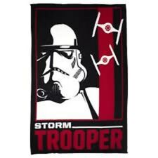 "Disney Star Wars ""Storm soldado"" Manta polar LARGE PRINT REGALO IDEAL"