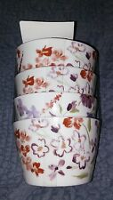 Fifth Garden Beauty set of 4 dessert bowls