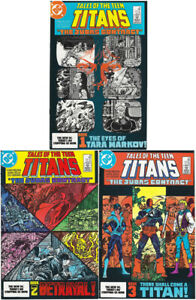 New TEEN TITANS 3 issue set