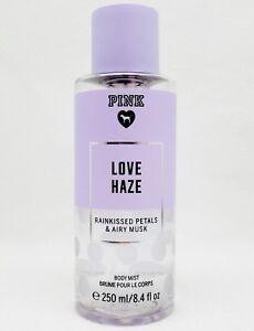 1 VS Pink LOVE HAZE - Rainkissed Petals & Airy Musk Fine Fragrance Body Mist