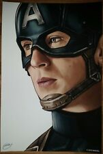 CAPTAIN AMERICA - Giclee Print by SAM GILBEY - xx/10 - AVENGERS
