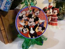 Disneyana Convention Resort Mickey Mouse Porcelain Christmas Ornament ~ 1995 LE