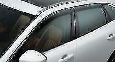 NEW Genuine Jaguar XF Saloon Wind Deflectors (x4) - T2H24262
