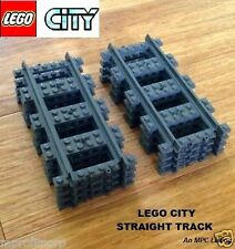 FREE Priort Ship LEGO straigh Train Track 8 NEW LEGO City TRACK  Lego track LEGO