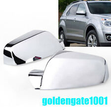 Pair Chrome Side Rearview Mirror Cover Fit Chevy Equinox/GMC Terrain 2011-16 GG