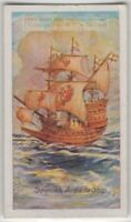 Galleon Ship War Navy Sailing 85+ Y/O Trade Ad Card