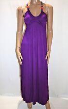 Hot Options Brand Purple Bead Bust Maxi Dress Size 10 BNWT #TC105