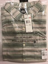 Quiksilver Men's Aventail Button-up  Short Sleeve Shirt EQYWT03099