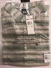 Quiksilver Men's Aventail Button-up  Short Sleeve Shirt EQYWT03099