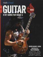 Rockschool Guitar Hot Rock Grade 5 TAB Music Book with Audio AC/DC Steve Vai