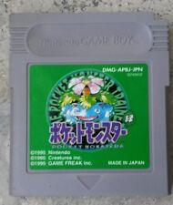 Pokemon verdes Edition verde (GameBoy, gb GBA GBC) original japonés (almacena)