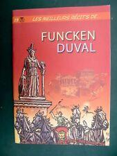 FUNCKEN DUVAL Meilleurs Récits 18 eo TL 1000 ex