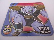 Magnet STAKS DRAGON BALL Z DBZ N°084 GINYU - Panini 2008 France