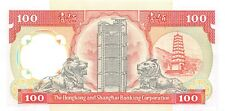 Hong Kong  $100 1.1.1990   P 198b  Series  MC  Low # 693  Uncirculated Banknote