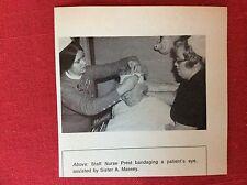 m2k ephemera 1975 picture lincoln eye hospital a massey nurse prest