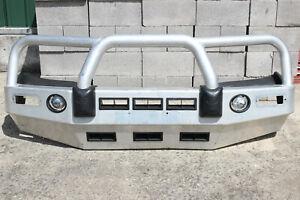 ECB TOYOTA HILUX FRONT ALLOY BULLBAR / BULL BAR - 4WD 4X4 & 2WD - BIG TUBE 05-11