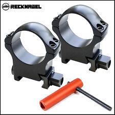 Recknagel 30mm Scope Rings for Picatinny - 14.0mm High [57030-1401]