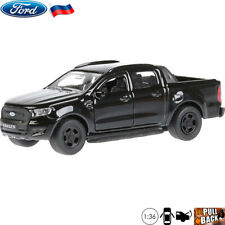 1:36 Scale Diecast Metal Model Car Ford Ranger Pickup Truck Black Die-cast Toy