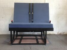 ¾ Rock and Roll Bed with budget upholstery and Seatbelts (4 Section)
