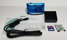 Nikon COOLPIX S3600 20.1 MP Digital Camera +Battery, Charger, Cable, 2GB SD Card