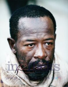 Lennie James AUTOGRAPH The Walking Dead SIGNED IN PERSON 10x8 Photo OnlineCOA