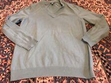 TALBOTS Women's Size Medium Long Sleeve V-Neck Sweater - Sea foam