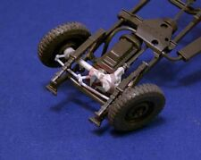 "Resicast 1/35 ""Workable"" Front Axle & Steering Willys MB Jeep (Tamiya) 352238"